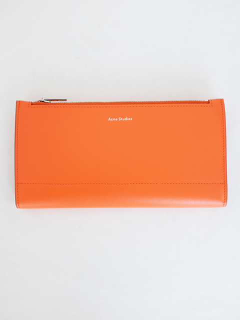 画像1: 【Acne Studios】LONG WALLET ORANGE (1)