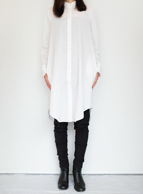 画像1: 【KristenseN DU NORD-クリステンセン ドゥ ノルド 】 SHIRTS WHITE (1)
