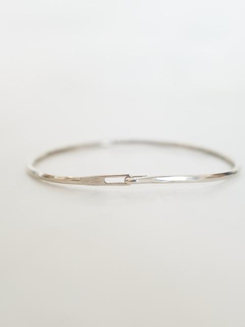 画像1: WERKSTATT:MUNCHEN-ワークスタットミュンヘン bracelet hook hammered (1)