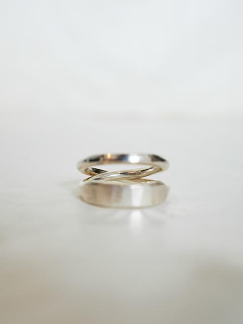 画像1: WERKSTATT:MUNCHEN-ワークスタットミュンヘン Cross Ring Forget (1)