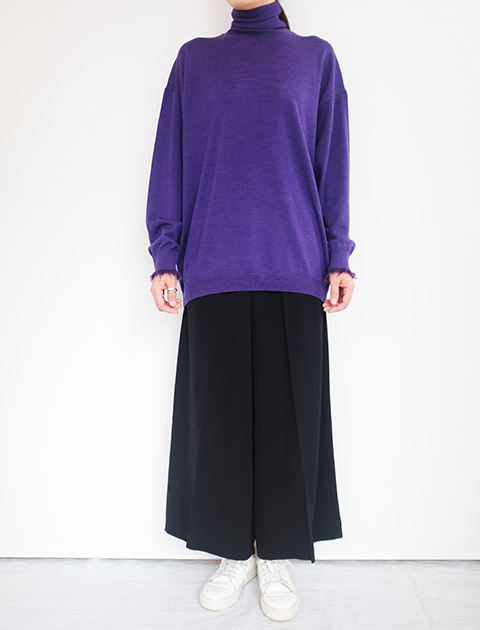 画像1: 【Acne Studios】PANCY FLU TWILL BLACK (1)