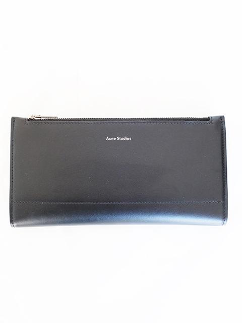 画像1: 【Acne Studios】LONG WALLET BLACK (1)