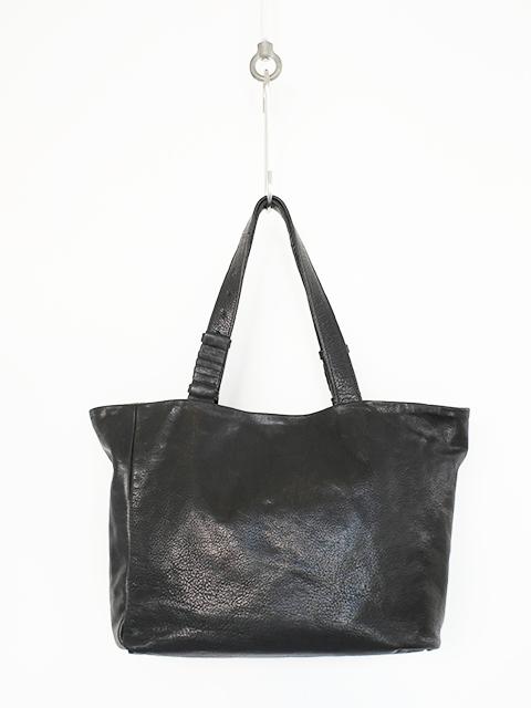 画像1: cornelian taurus by daisuke iwanaga-コーネリアンタウラス バイ ダイスケ イワナガ Hand Piece Tote BLACK (1)