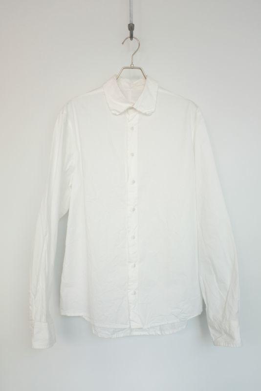 画像1: Chez Vidalenc-シェ ヴィダレンク Stockholm Shirts WHITE (1)