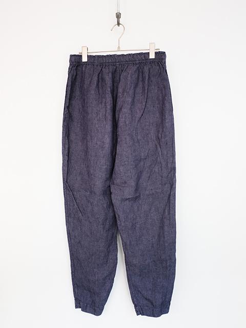 画像1: Chez Vidalenc-シェ ヴィダレンク Pants cooisse S BLUE (1)