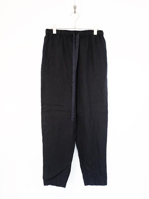 画像1: Chez Vidalenc-シェ ヴィダレンク Pants cooisse S BLACK (1)