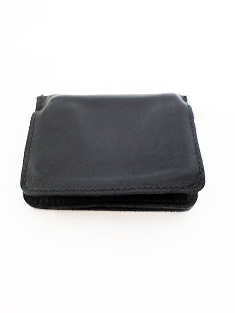 画像1: GUIDI-グイディ ZIP WALLET BLACK (1)