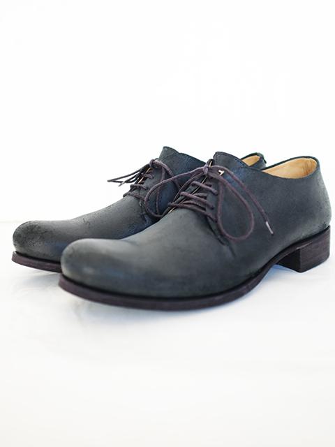 画像1: m.a+-エムエークロス 1 Piece Derby Shoes BLACK REVERSE (1)
