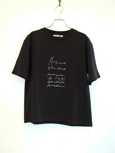 画像1: 【Acne Studios】ERINA SWEDISH BLACK (1)