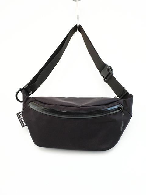 画像1: bagjack-バッグジャック hip bag BLACK (1)