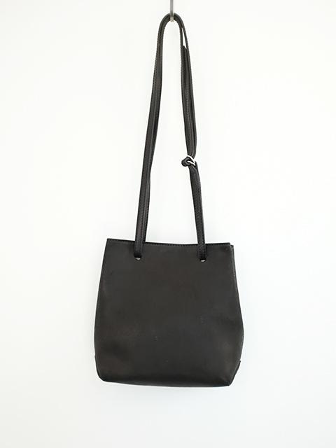 画像1: 【GUIDI】 GD08 SQUARE BAG BLACK  T  (1)
