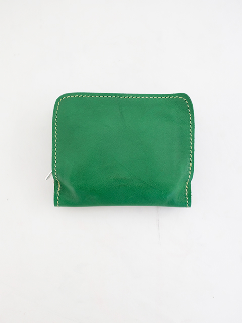 画像1: GUIDI-グイディ C8 ZIPPED WALLET GREEN (1)