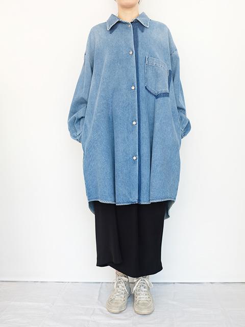 画像1: 【MM(6)-エムエムシックス 】 DENIM DRESS NIDIUM CAST SHADOW (1)