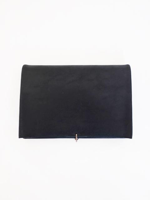 画像1: m.a+-エムエークロス W7 Small wallet with hook BLACK (1)