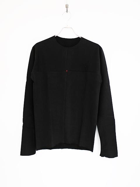 画像1: m.a+-エムエークロス ONE PIECE LONG SLEEVE T-SHIRTS BLACK (1)