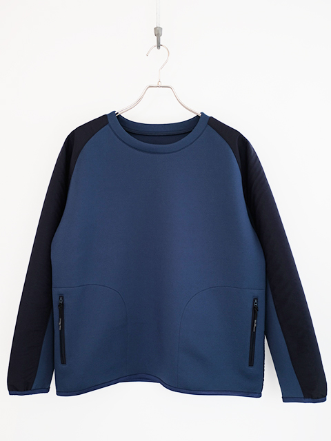 画像1: DESCENTE -デサント ddd TOUGH AIR PULLOVER BLUE (1)