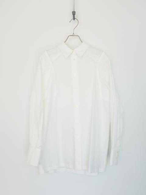 画像1: 【CLANE-クラネ】 2 WAY OFF SHOULDER COLLAR TOPS WHITE (1)